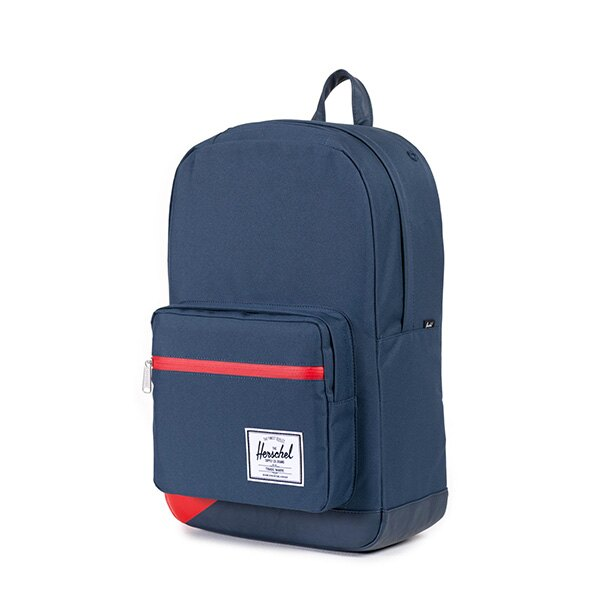 【EST】HERSCHEL POP QUIZ 15吋電腦包 後背包 拚色 藍紅 [HS-0011-764] F0810 2