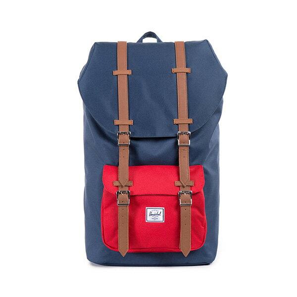 【EST】HERSCHEL LITTLE AMERICA 15吋電腦包 後背包 藍紅 [HS-0014-018] F0810 0