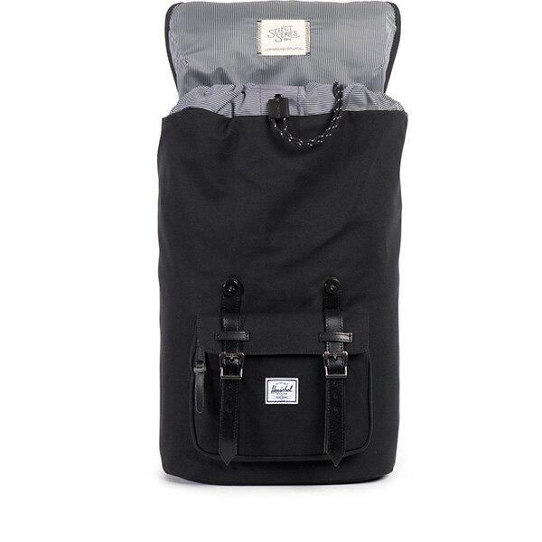 【EST】HERSCHEL LITTLE AMERICA 15吋電腦包 後背包 帆布 黑 [HS-0014-562] F0810 1