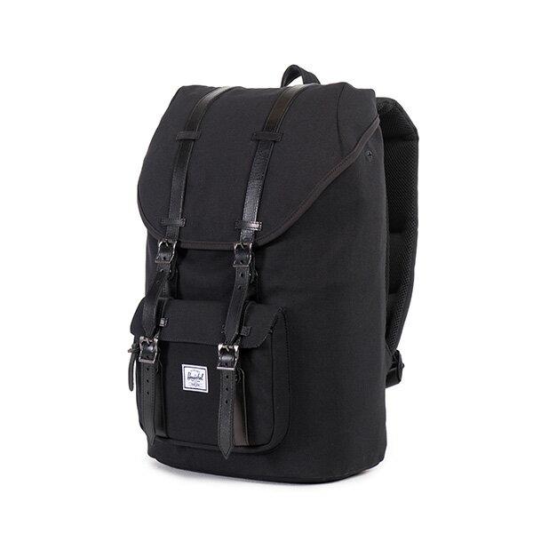 【EST】HERSCHEL LITTLE AMERICA 15吋電腦包 後背包 帆布 黑 [HS-0014-562] F0810 2