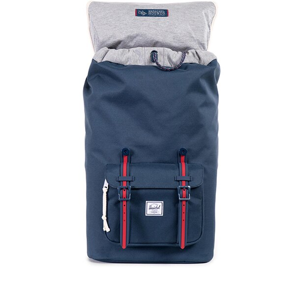 【EST】HERSCHEL LITTLE AMERICA 15吋電腦包 後背包 藍紅 [HS-0014-725] F0810 1