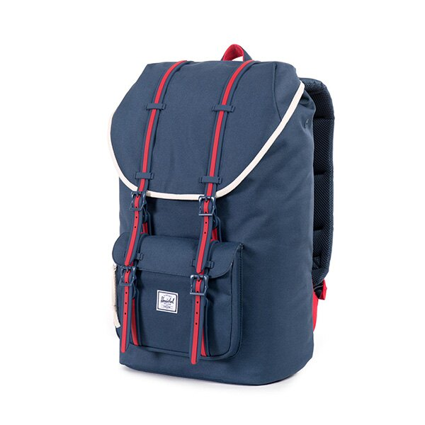 【EST】HERSCHEL LITTLE AMERICA 15吋電腦包 後背包 藍紅 [HS-0014-725] F0810 2