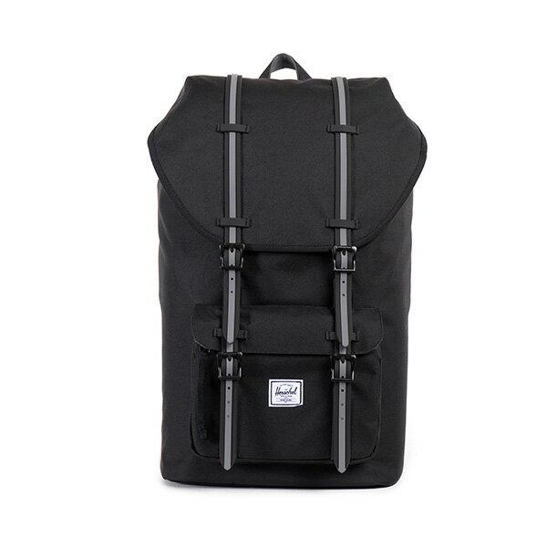 【EST】HERSCHEL LITTLE AMERICA 15吋電腦包 後背包 黑灰 [HS-0014-726] F0810 0