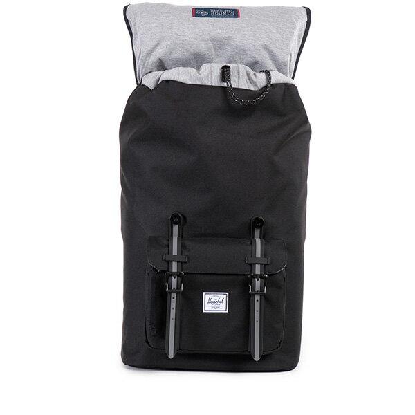 【EST】HERSCHEL LITTLE AMERICA 15吋電腦包 後背包 黑灰 [HS-0014-726] F0810 1