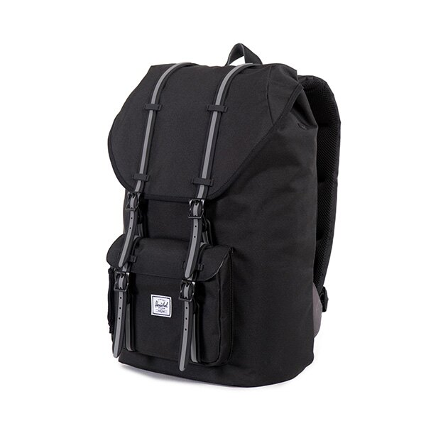 【EST】HERSCHEL LITTLE AMERICA 15吋電腦包 後背包 黑灰 [HS-0014-726] F0810 2