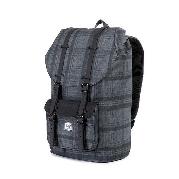 【EST】HERSCHEL LITTLE AMERICA 15吋電腦包 後背包 格紋 黑 [HS-0014-754] F0810 2