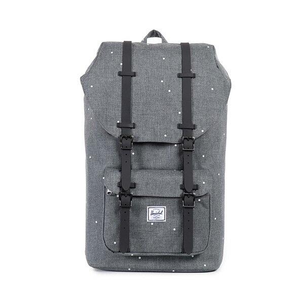 【EST】HERSCHEL LITTLE AMERICA 15吋電腦包 後背包 點點 灰 [HS-0014-756] F0810 0