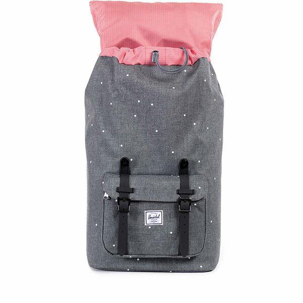 【EST】HERSCHEL LITTLE AMERICA 15吋電腦包 後背包 點點 灰 [HS-0014-756] F0810 1