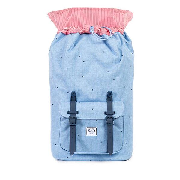 【EST】HERSCHEL LITTLE AMERICA 15吋電腦包 後背包 點點 淺藍 [HS-0014-757] F0810 1