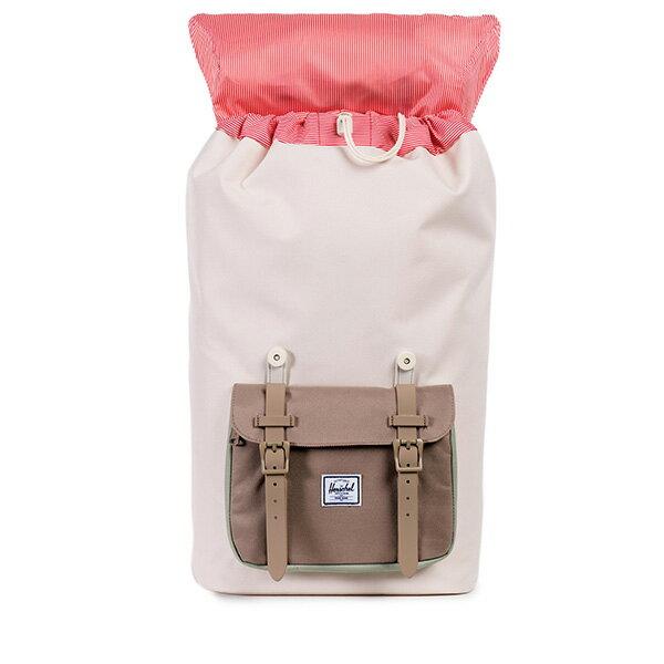 【EST】HERSCHEL LITTLE AMERICA 15吋電腦包 後背包 拼接 米色 [HS-0014-766] F0810 1