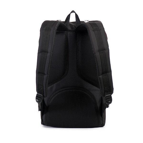 【EST】HERSCHEL LITTLE AMERICA 15吋電腦包 後背包 斜紋 黑 [HS-0014-774] F0810 3