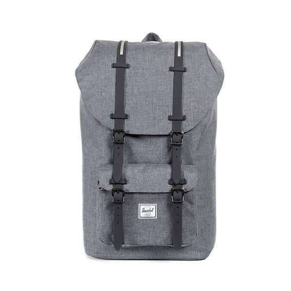 【EST】HERSCHEL LITTLE AMERICA 15吋電腦包 後背包 灰 [HS-0014-792] F0810 0