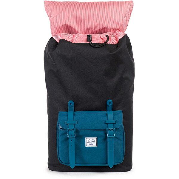 【EST】Herschel Little America 15吋電腦包 後背包 膠條 拚色 黑藍 [HS-0014-869] F1019 1