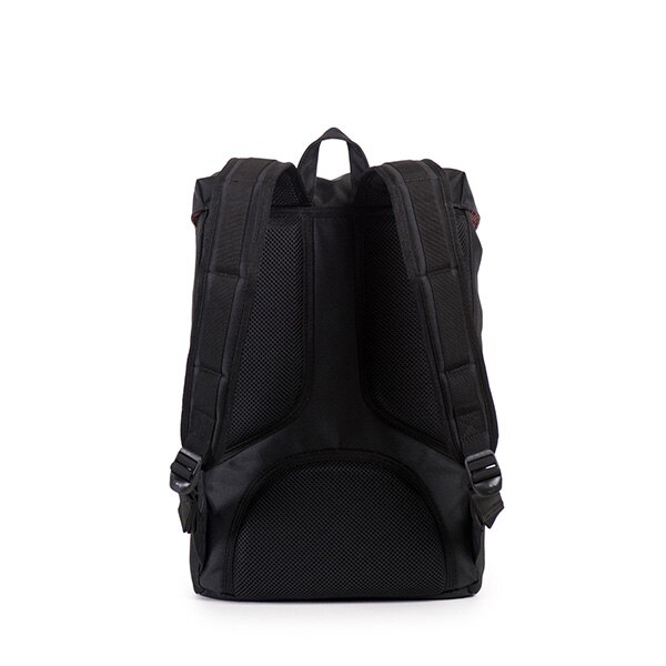 【EST】HERSCHEL LITTLE AMERICA MID 中款 13吋電腦包 後背包 斜紋 黑 [HS-0020-774] F0810 3