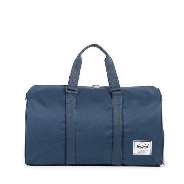 【EST】HERSCHEL NOVEL 圓筒 多功能 鞋箱 手提袋 旅行包 藍 [HS-0026-534] F0810 0