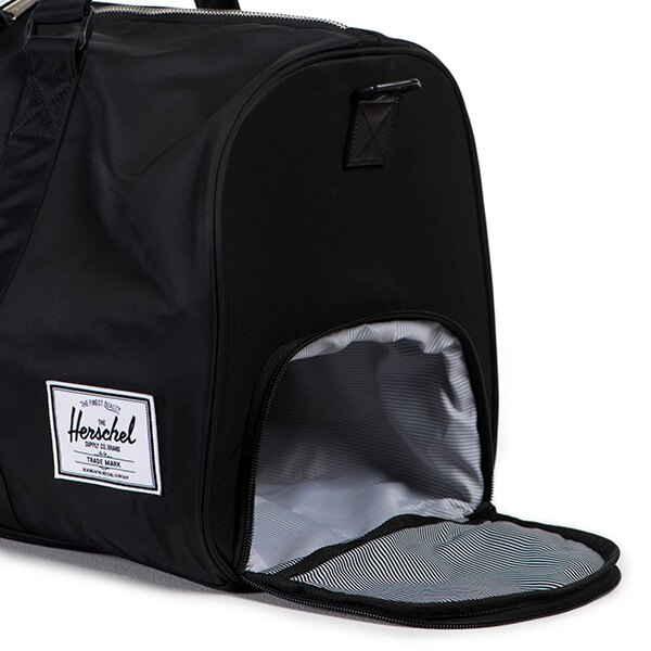 【EST】Herschel Novel 圓筒 多功能 鞋箱 手提袋 旅行包 尼龍 黑 [HS-0026-727] F0810 2