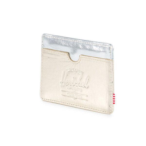 【EST】HERSCHEL CHARLIE 橫式 卡夾 名片夾 證件套 金銀 [HS-0045-879] F1019 2