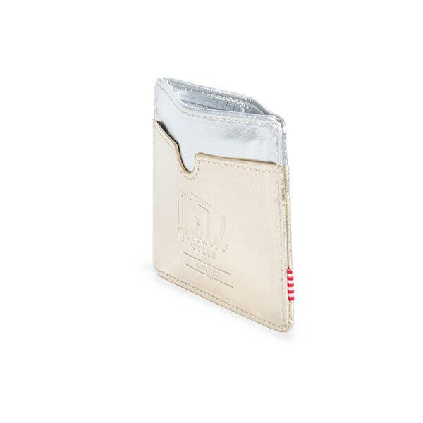 【EST】HERSCHEL CHARLIE 橫式 卡夾 名片夾 證件套 金銀 [HS-0045-879] F1019 3