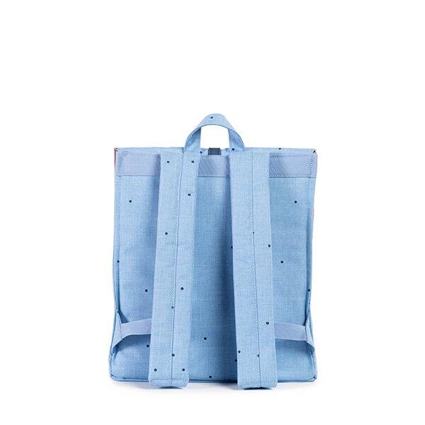 【EST】HERSCHEL CITY 方形 後背包 點點 淺藍 [HS-0089-757] F0810 3
