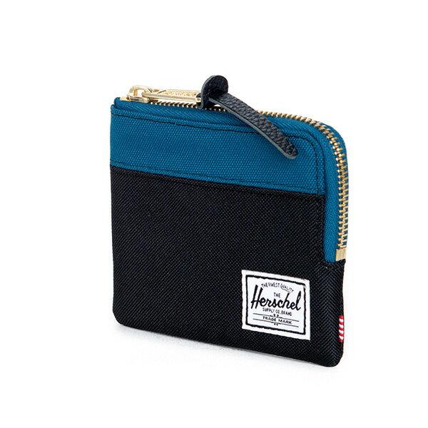 【EST】Herschel Johnny Wallet 小皮夾 零錢包 黑藍 [HS-0094-869] F1019 1
