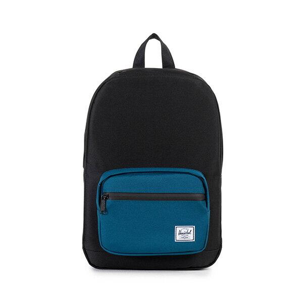【EST】HERSCHEL POP QUIZ MID 中款 13吋電腦包 後背包 黑藍 [HS-0211-869] F1019 0