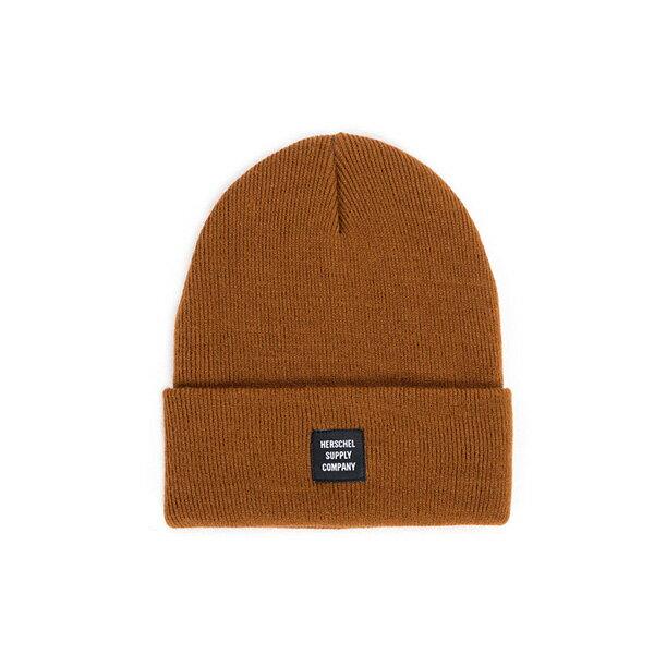 【EST】HERSCHEL ABBOTT 針織 反摺 毛帽 棕 [HS-1001-005] F0819 - 限時優惠好康折扣