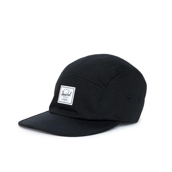 【EST】Herschel Glendale 經典款 硬版 後調式 五分割帽 棒球帽 黑 [HS-1007-001] F0819 0