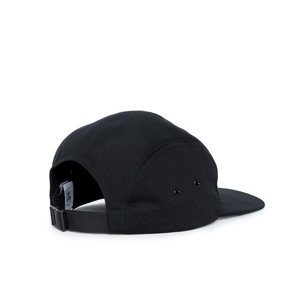 【EST】Herschel Glendale 經典款 硬版 後調式 五分割帽 棒球帽 黑 [HS-1007-001] F0819 1