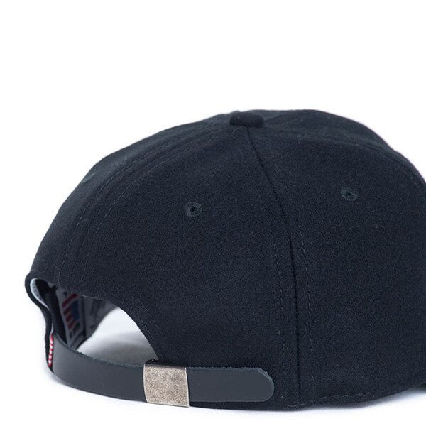 【EST】HERSCHEL RUNDLE 羊毛 後調式 棒球帽 黑 [HS-1009-014] F0819 1