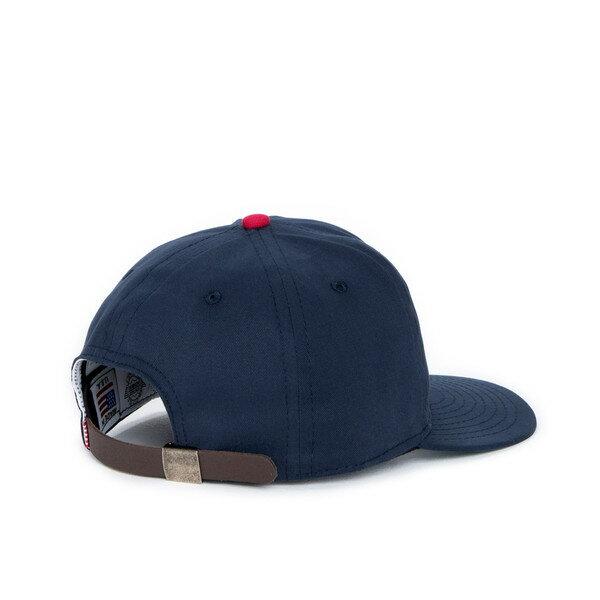 【EST】HERSCHEL WOODBINE 大H 後調式 棒球帽 深藍 [HS-1010-015] F0819 1