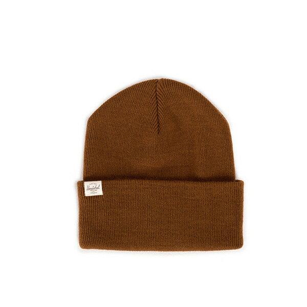【EST】HERSCHEL FRANKFURT 經典款 針織 反摺 毛帽 棕 [HS-1012-005] F0819 0