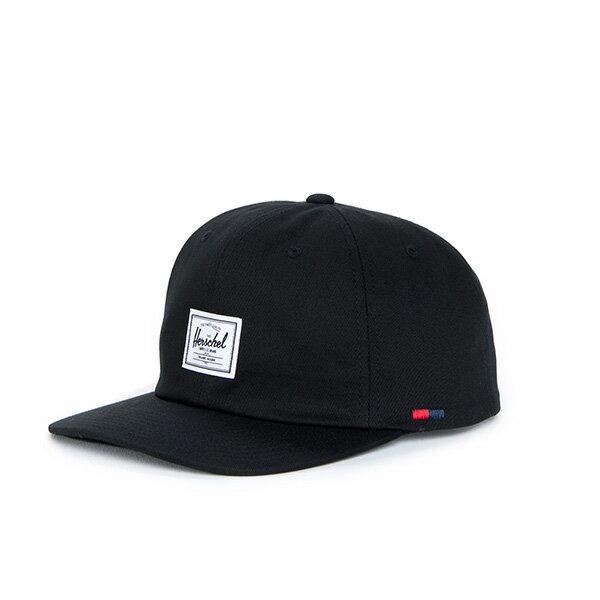 【EST】HERSCHEL ALBERT 後調式 棒球帽 黑 [HS-1020-001] F0819 0