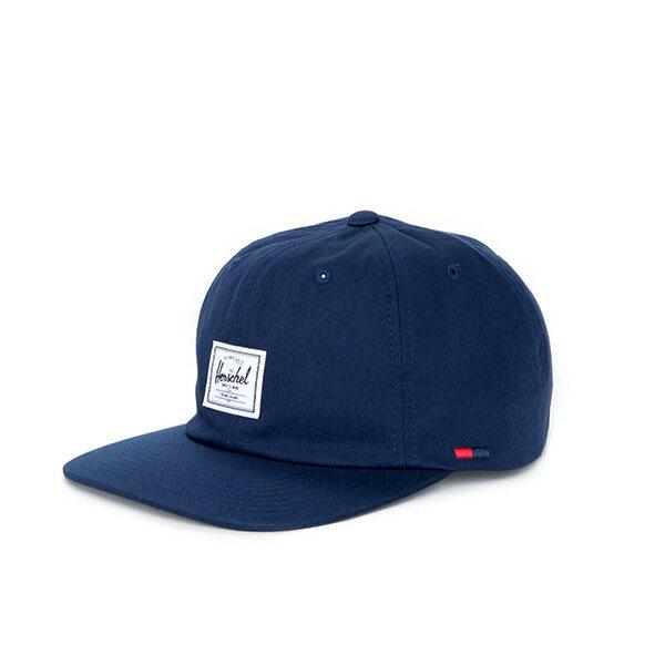 【EST】HERSCHEL ALBERT 後調式 棒球帽 深藍 [HS-1020-004] F0819 0