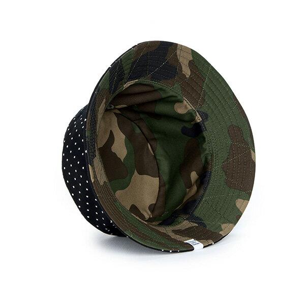 【EST】HERSCHEL LAKE 雙面 漁夫帽 點點 迷彩 [HS-1025-080] S/L F0819 2