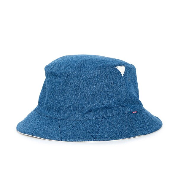 【EST】HERSCHEL LAKE 雙面 漁夫帽 丹寧 米色 [HS-1025-083] S/L F0819 0