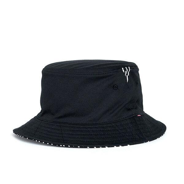 【EST】HERSCHEL LAKE RAINDROP 雙面 漁夫帽 雨滴 黑 [HS-1025-103] F1023 0