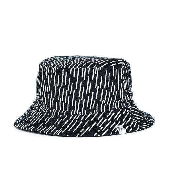 【EST】HERSCHEL LAKE RAINDROP 雙面 漁夫帽 雨滴 黑 [HS-1025-103] F1023 1