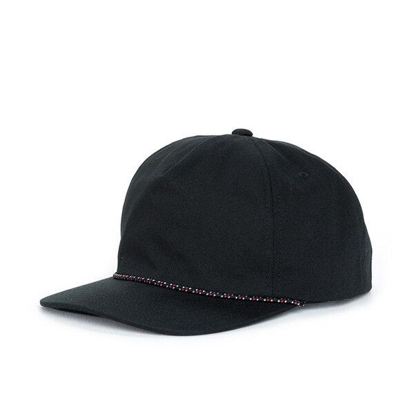 【EST】HERSCHEL CUSAK 滾邊 點點 後扣 棒球帽 黑 [HS-1027-001] F0819 0