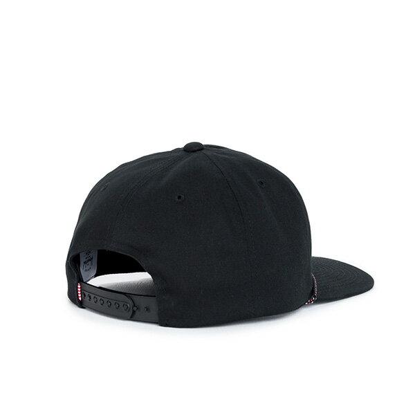 【EST】HERSCHEL CUSAK 滾邊 點點 後扣 棒球帽 黑 [HS-1027-001] F0819 1