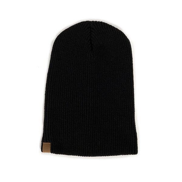 【EST】HERSCHEL PLAIN 針織 毛帽 黑 [HS-1030-001] F1023 0