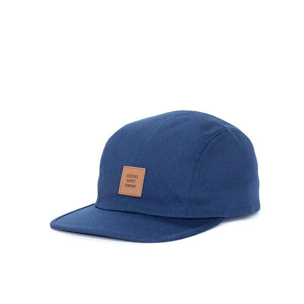 【EST】HERSCHEL OWEN LOGO 後調式 四分割帽 棒球帽 深藍 [HS-1040-004] F0819 0