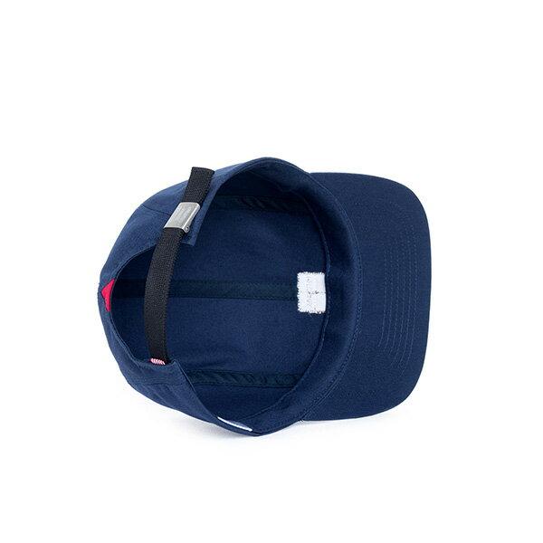 【EST】HERSCHEL OWEN LOGO 後調式 四分割帽 棒球帽 深藍 [HS-1040-004] F0819 2