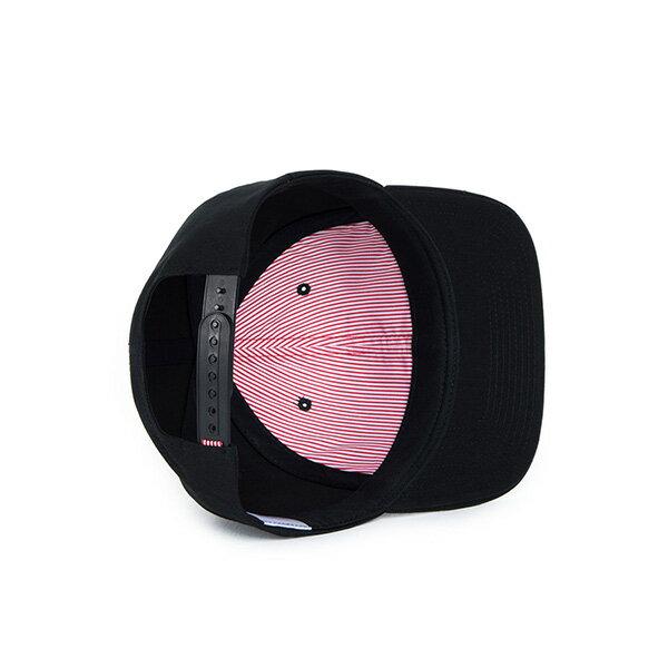 【EST】HERSCHEL TOBY 大H 後扣 棒球帽 黑 [HS-1041-001] F1023 2