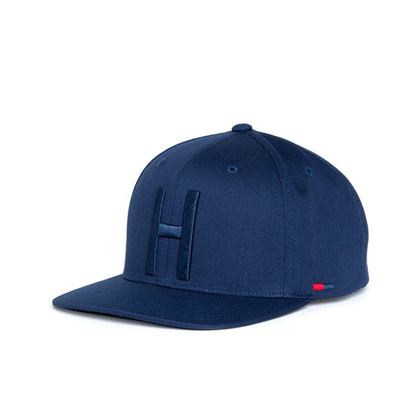 【EST】HERSCHEL TOBY 大H 後扣 棒球帽 藍 [HS-1041-004] F1023 0