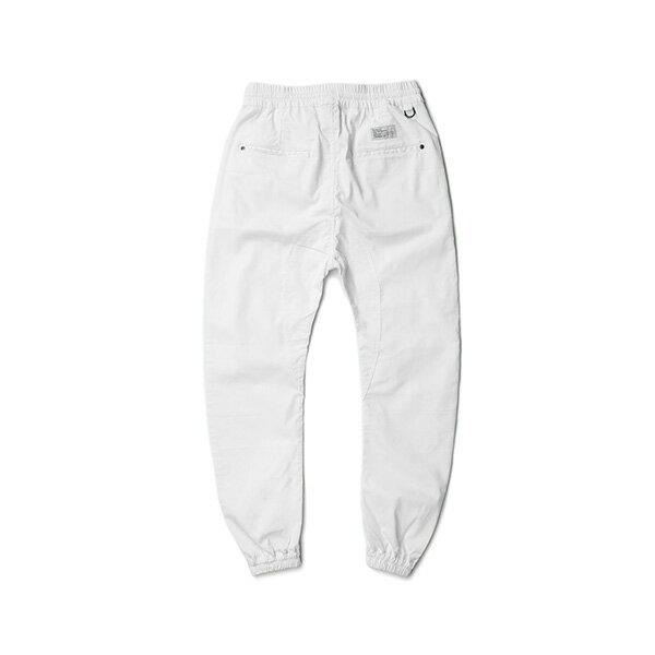 【EST】PUBLISH ARCH JOGGER 抽繩 綁帶 長褲 工作褲 束口褲 白 [PL-5351-001] F1002 1