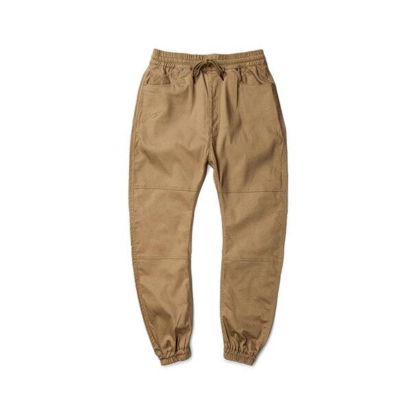 【EST】PUBLISH ARCH JOGGER 抽繩 綁帶 長褲 工作褲 束口褲 卡其 [PL-5351-537] F1002 0
