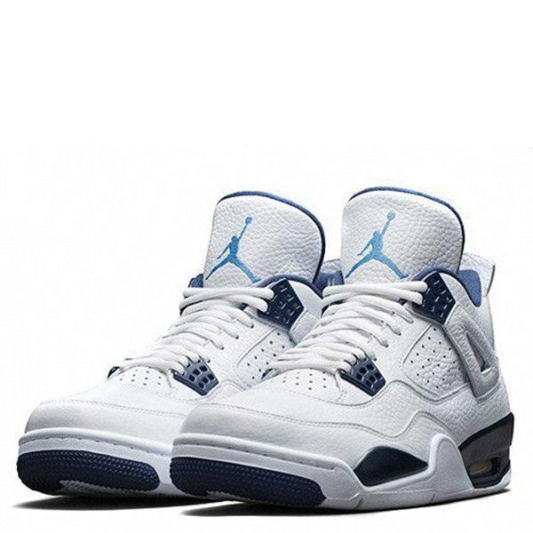 【EST O】Nike Air Jordan 4 Retro Bg Aj4 哥倫比亞 傳奇藍 男鞋 [314254-107] F0513 1