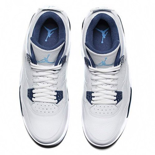 【EST O】Nike Air Jordan 4 Retro Bg Aj4 哥倫比亞 傳奇藍 男鞋 [314254-107] F0513 2