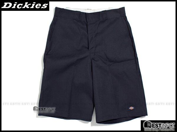 """【EST】美版 Dickies 42-283 13"""" Loose Fit Work Short 工作 短褲 [DK-5002-086] 深藍 W28~36 E0613 0"""