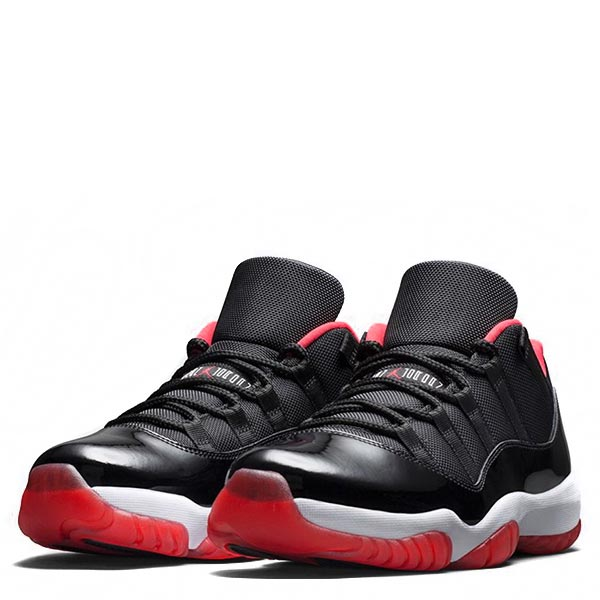 【EST O】Nike Air Jordan 11 Low Retro Bred Aj11 男鞋 黑紅 [528895-012] F0526 1